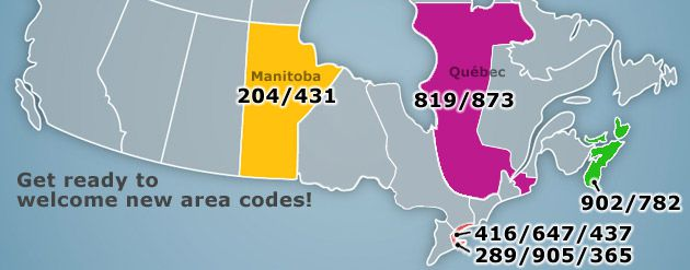 Get ready to welcome new area codes!